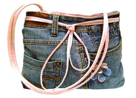 Вещи из старых джинсов своими руками