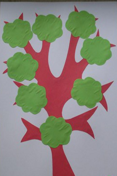 Дерево поделка к пасхе