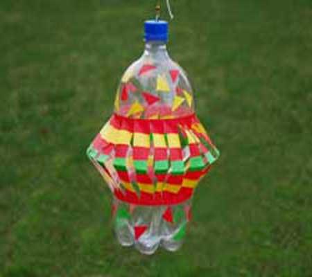 Фонарик из бутылки