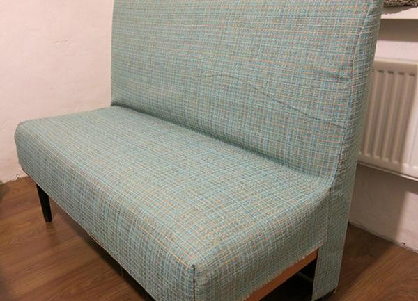 Сшить чехол для дивана без подлокотников своими руками фото 26