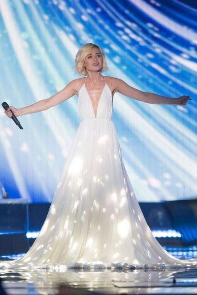 Полина гагарина платье евровидение
