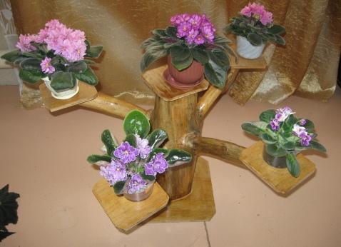 Подставки для цветов своими руками напольные