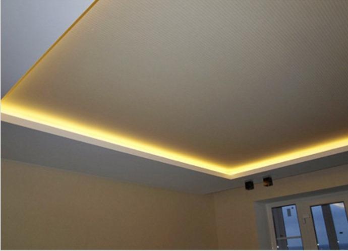 Своими руками потолок с светодиодной подсветкой