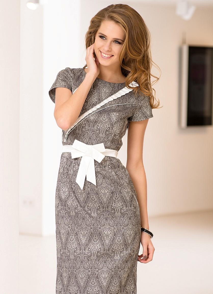 фасоны красивых платьев для полных фото