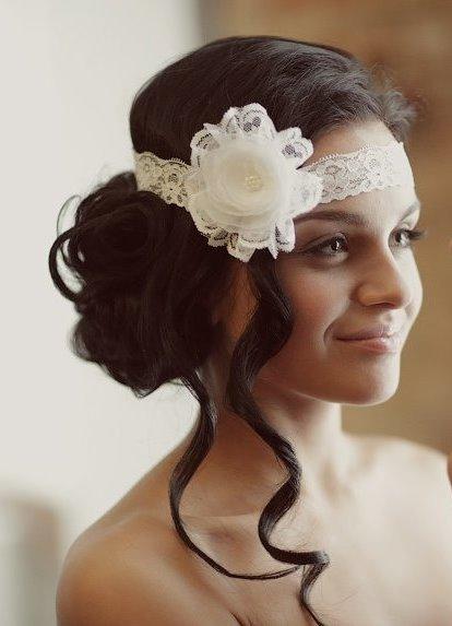 Цветок повязка на голову своими руками