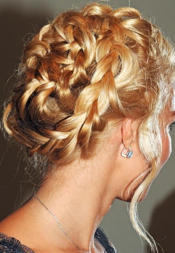 Красивые прически с плетением косы фото 96