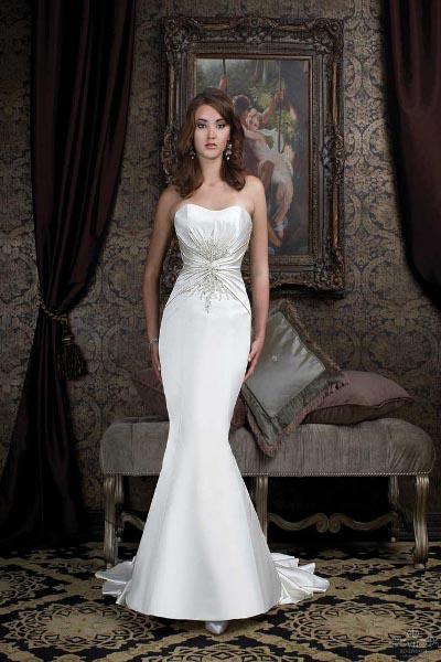 Фото приталенные свадебные платья