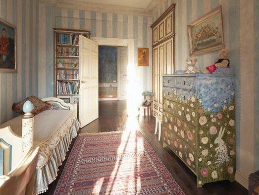 Интерьер квартиры в русском деревенском стиле. Фото ...