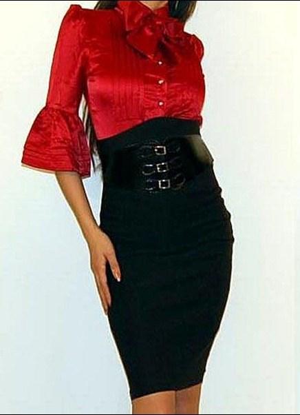 юбка узкая прямая: