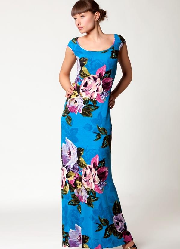 Сшить платье длинное летнее