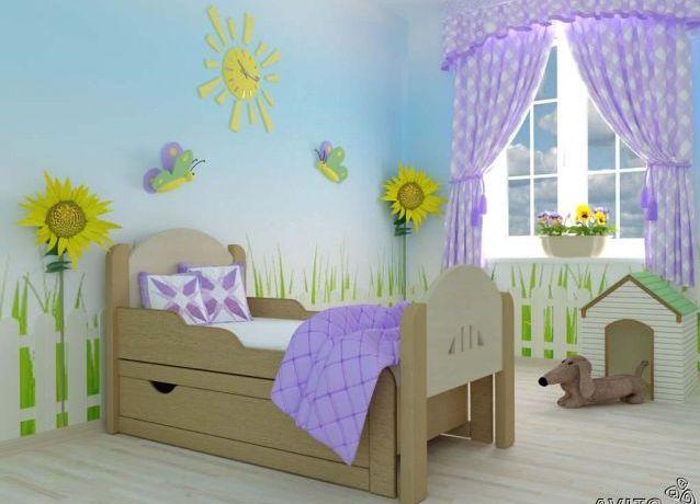 Раздвижная кровать для ребенка