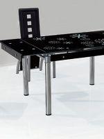 Раздвижные стеклянные столы для кухни