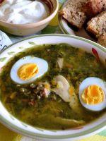 Щи из щавеля с яйцом - рецепт