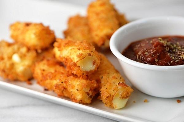 Рецепт сырные палочки из сулугуни