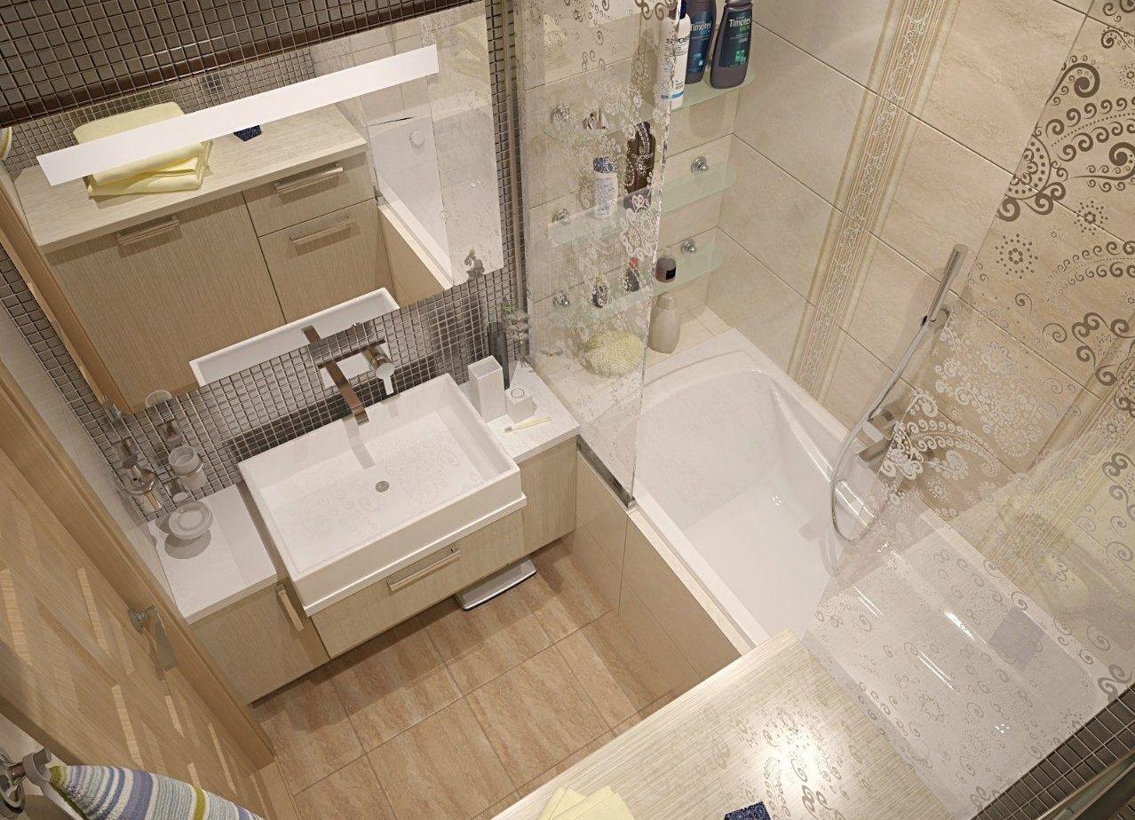 Ванные комнаты площадью 2, 89 м2 дизайн
