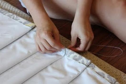 Римская штора своими руками мастер класс фото