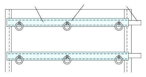 (длина шторы+ширина+50 см)