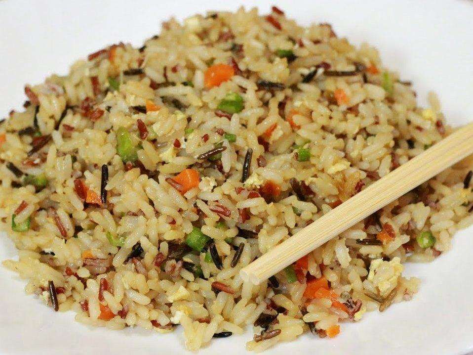 вкусный рис овощами рецепт фото