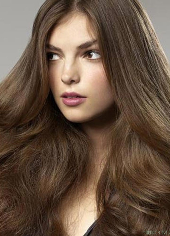 Натуральный темно-русый цвет волос фото