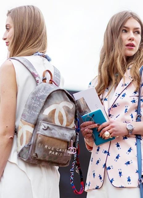 Шанель рюкзаки оригинал большой выбор рюкзаков в киеве