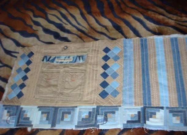 Как сшить рюкзак из старых джинсов своими