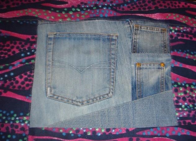 Рюкзак из джинса своими руками