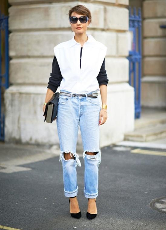 Длинная блузка женская с чем носить