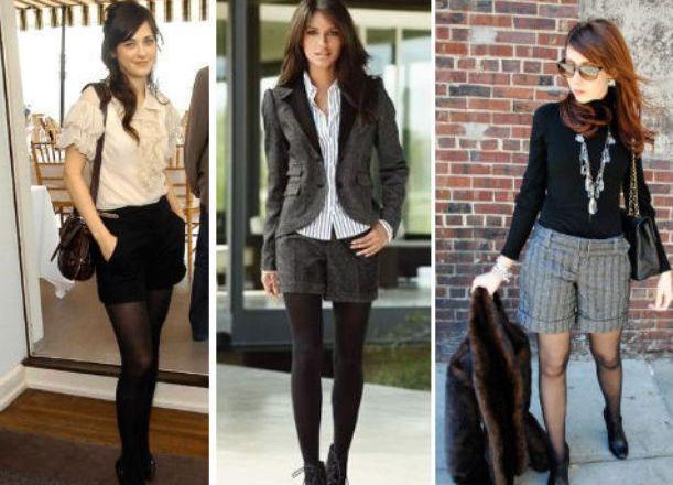 Классические шорты под что одеть