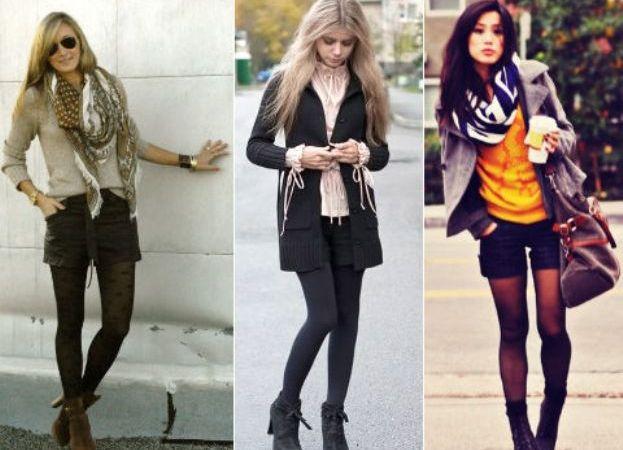 что одеть в клуб девушке осенью фото