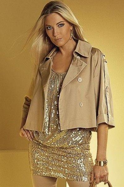 Платья короткие под пиджак фото
