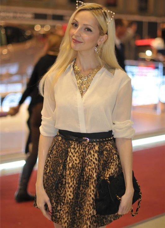 Образы с юбка леопардовая