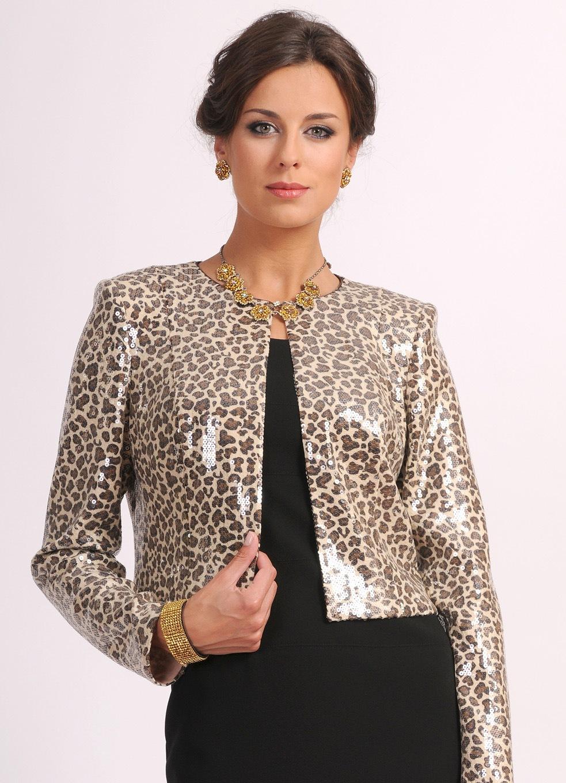 Burda Блузки Леопардового Окраса