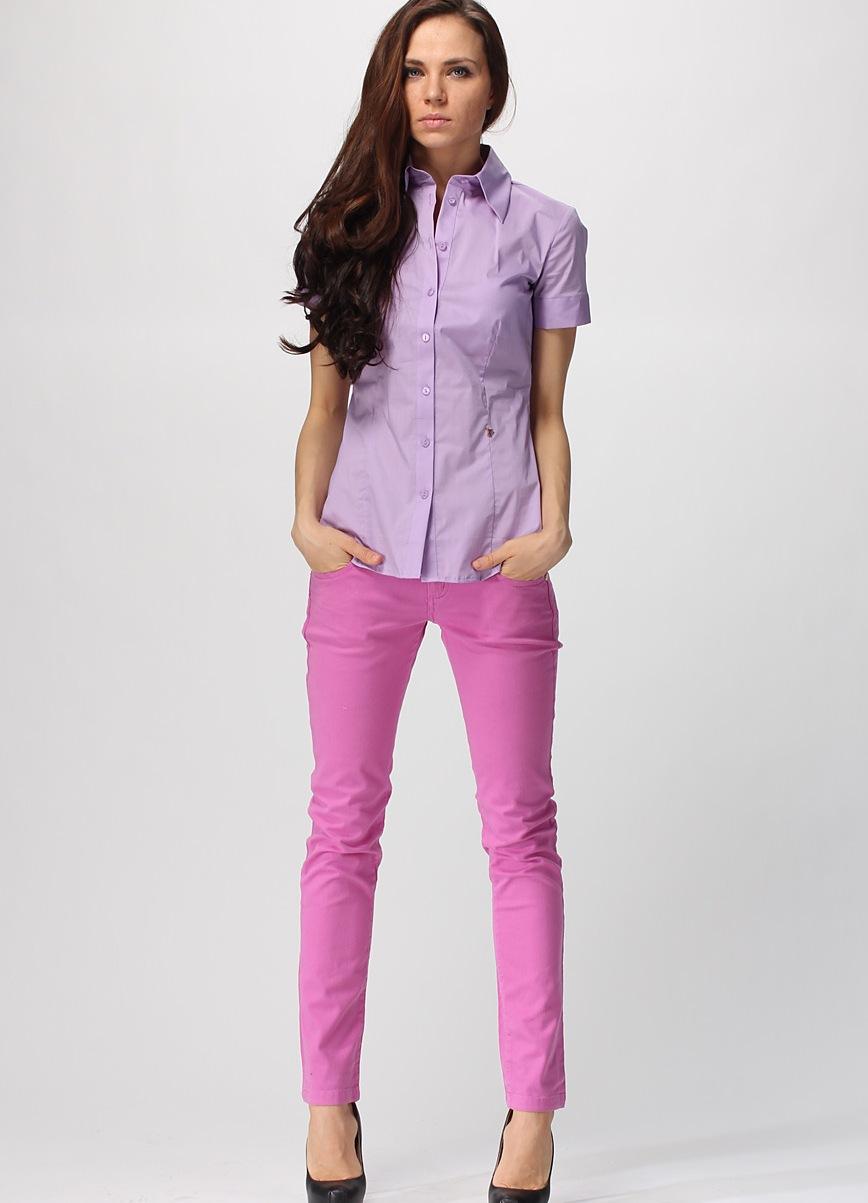 Розовые туфли с чем носить