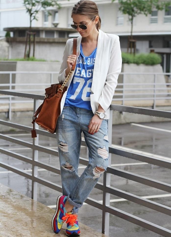 Рваные джинсы 2015