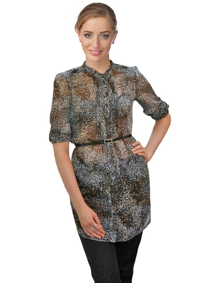 Модели блузок из шифона 2015 доставка