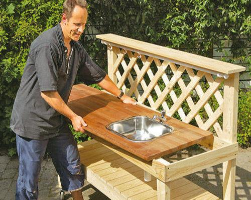 Садовая мебель своими руками удачные самоделки фото