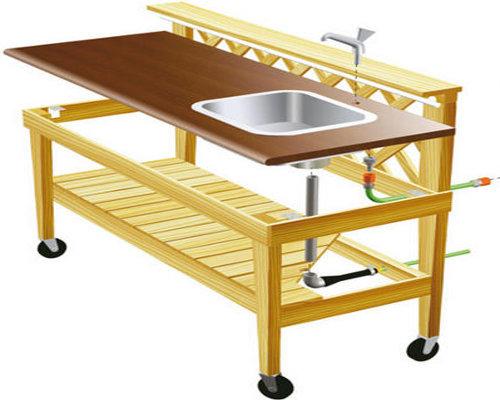 Кухонная мебель своими руками фото