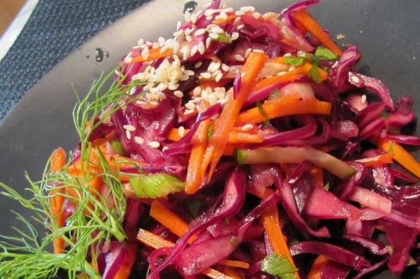 Блюда из краснокочанной капусты рецепты простые и вкусные 62