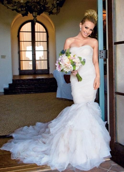 Фото знаменитостей в свадебном платье
