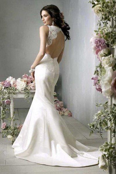 Свадебные развратные платья