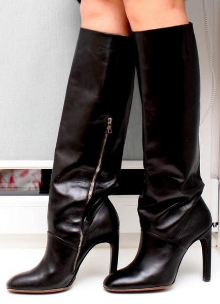 Модные сапоги, фото