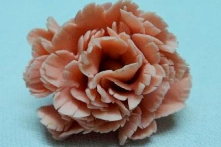 Съедобные цветы из теста 9