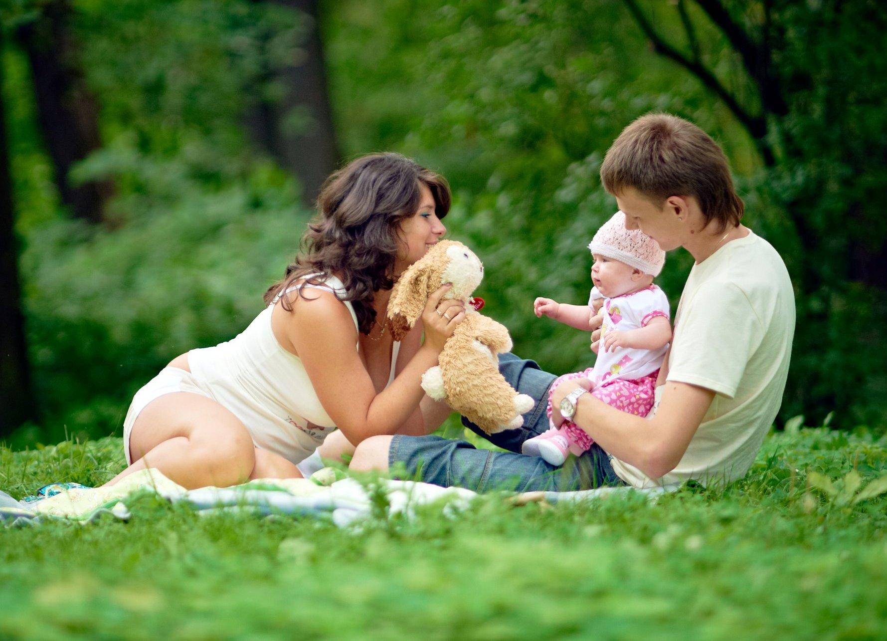 Семейное фото на природе фото 291-274