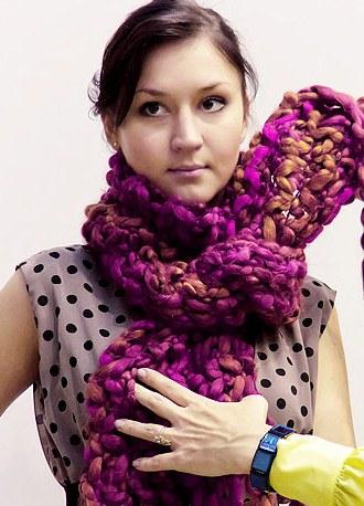 Как завязать шарф трубу