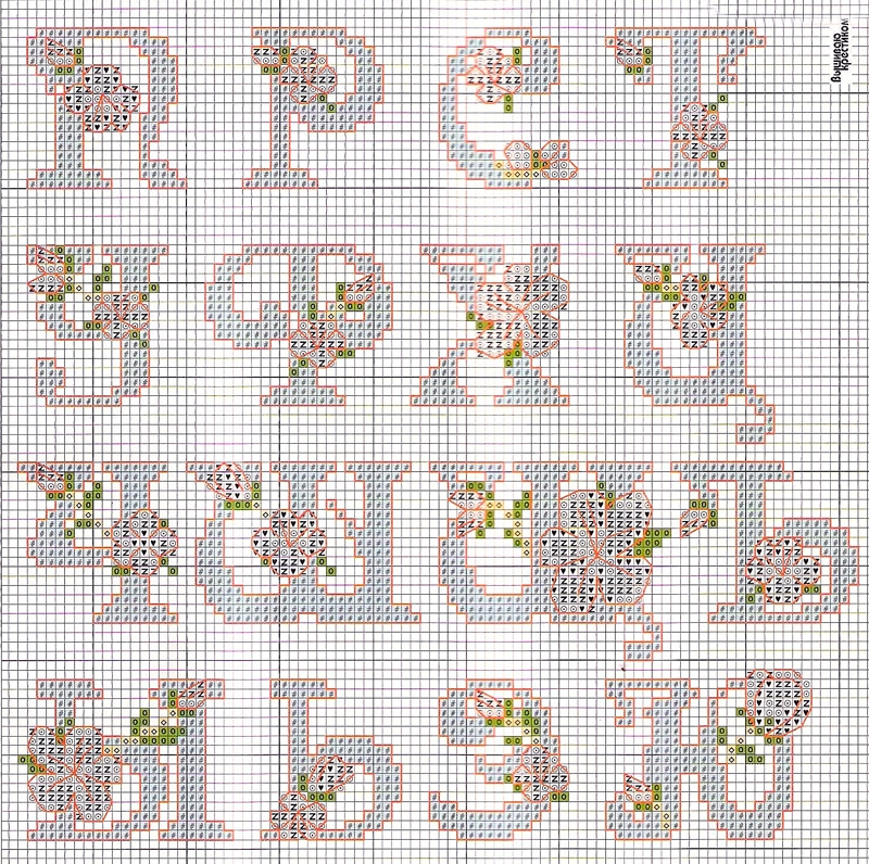 схема алфавита 2