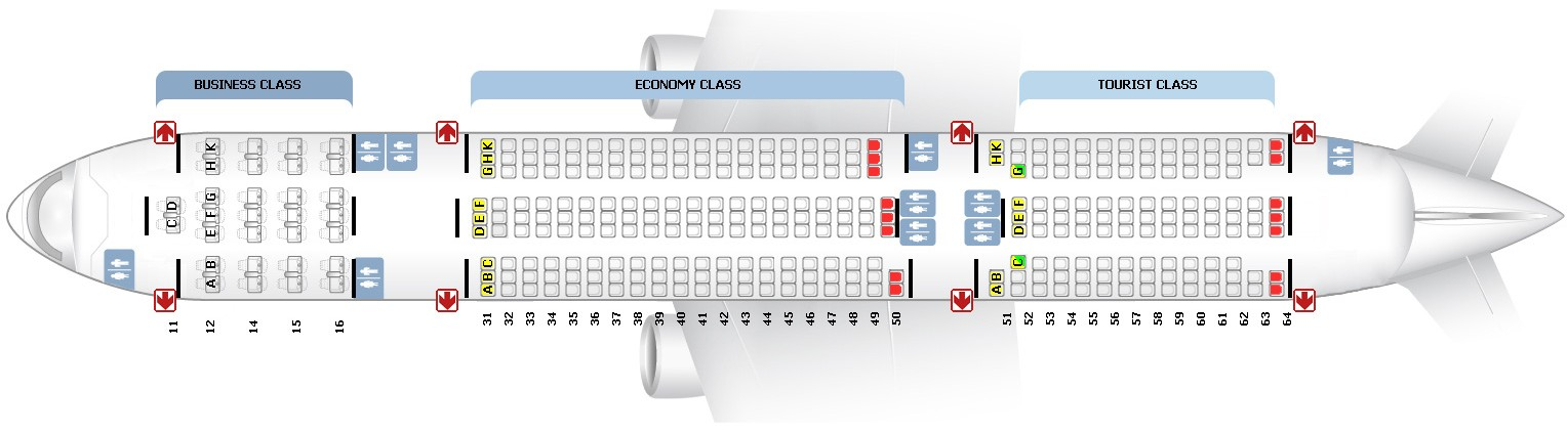 схема самолета боинг 777 200