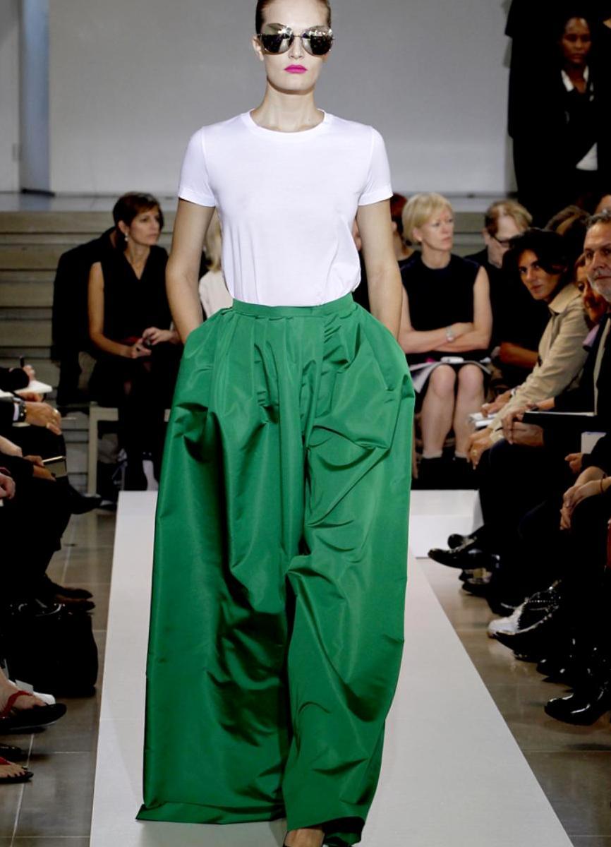 шифоновая юбка в пол 4