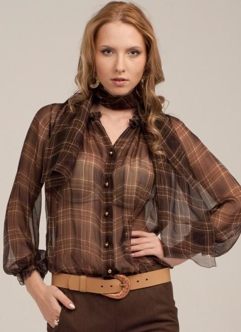 Модные Блузки Для Полных 2013 Фото