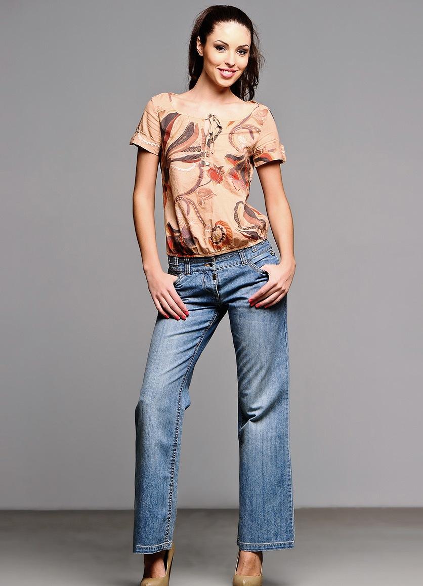 Модные широкие брюки-юбка
