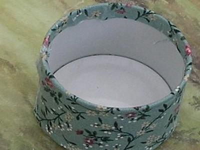 Сделать шкатулку для рукоделия из ткани своими руками фото 843